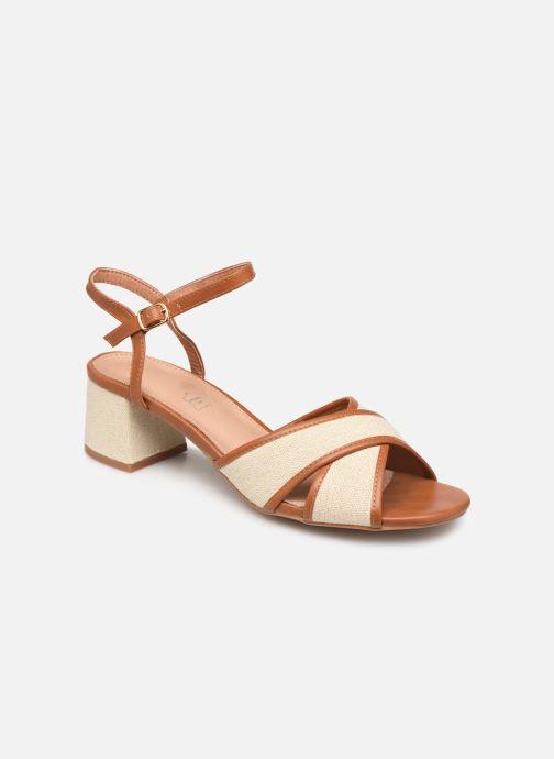 Sandales et nu-pieds Vanessa Wu SD1962 Beige vue détail/paire