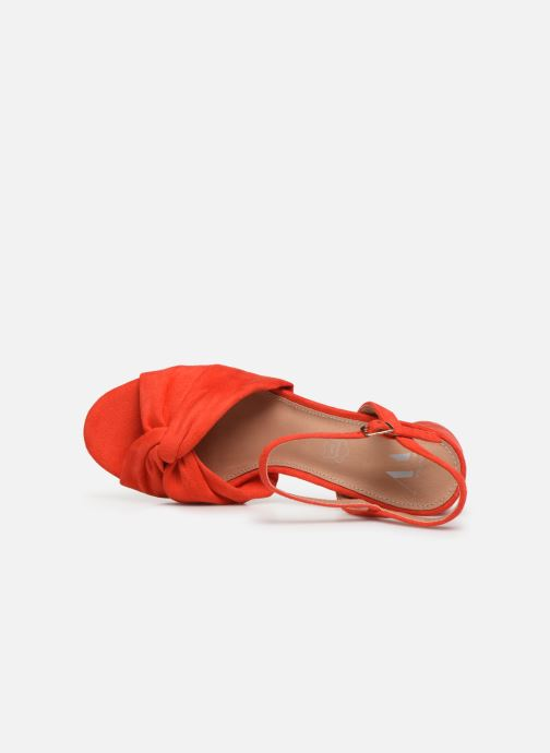 Sandales et nu-pieds Vanessa Wu SD1969 Orange vue gauche