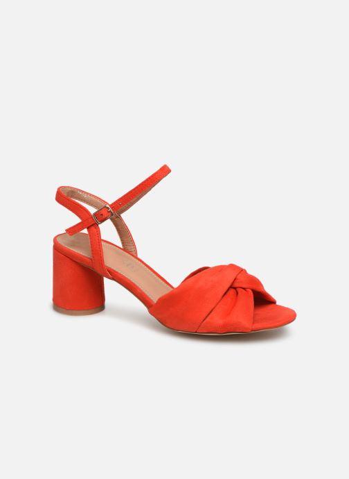 Sandales et nu-pieds Vanessa Wu SD1969 Orange vue détail/paire