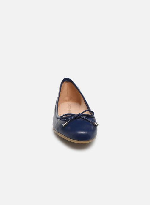 Ballerines Georgia Rose Selenova soft Bleu vue portées chaussures
