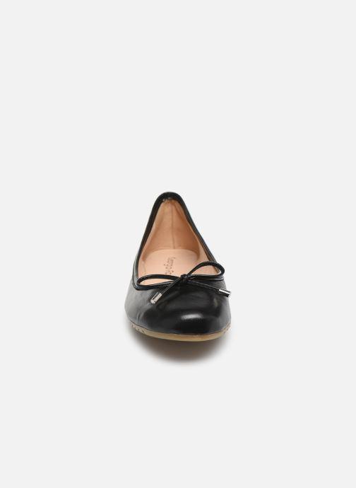 Ballerines Georgia Rose Selenova soft Noir vue portées chaussures
