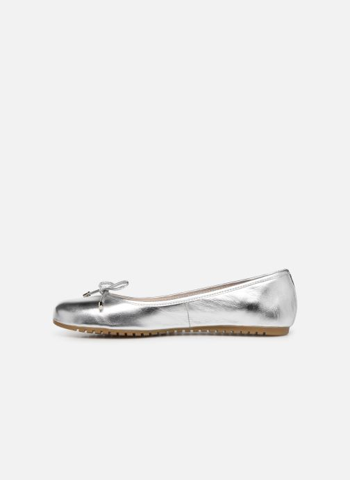 Ballet pumps Georgia Rose Selenova soft Silver front view