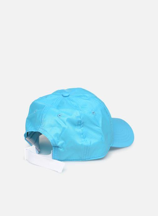 Cappellino FILA RIBSTOP CAP Azzurro modello indossato
