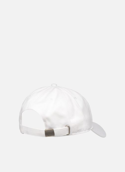 Kappe FILA Dad Cap Linear  Strap Back weiß schuhe getragen