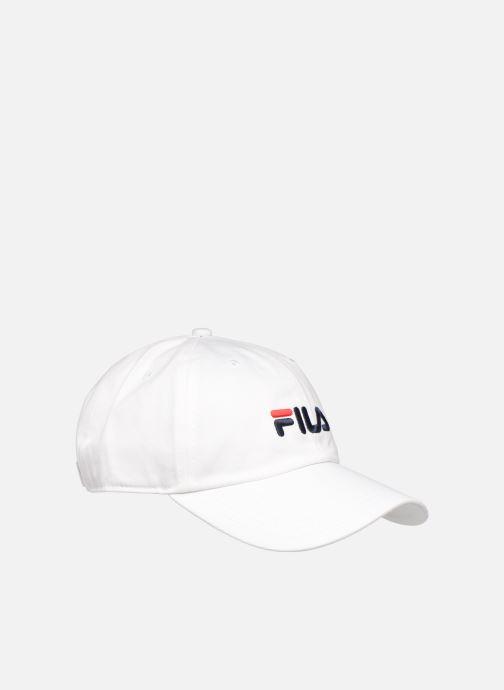 Pet FILA DAD CAP LINEAR  STRAP BACK Wit voorkant