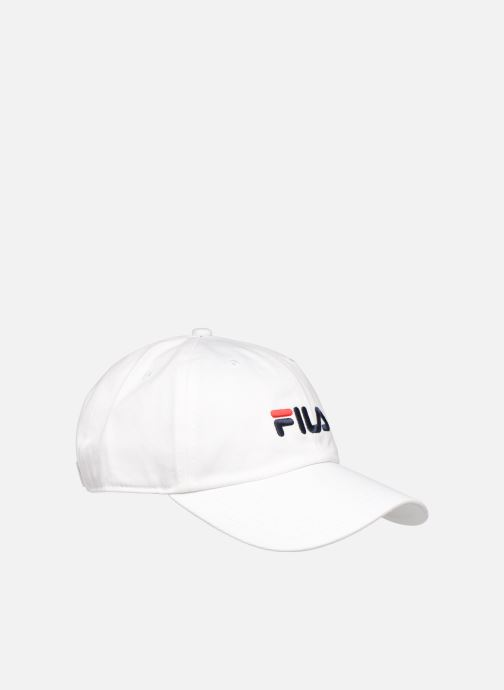 Pet FILA DAD CAP LINEAR  STRAP BACK Wit voorkant