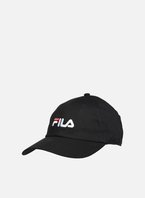Gorra FILA Dad Cap Linear  Strap Back Negro vista de detalle / par