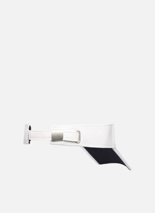 Casquettes FILA Visor Blanc vue portées chaussures