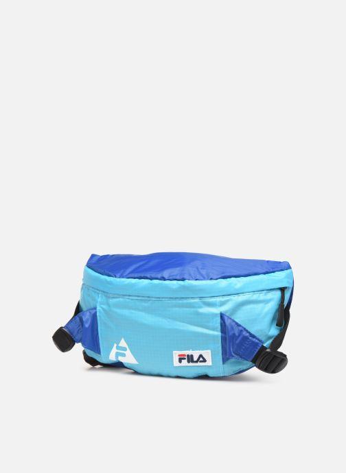 Petite Maroquinerie FILA Waist Bag Göteborg Bleu vue portées chaussures