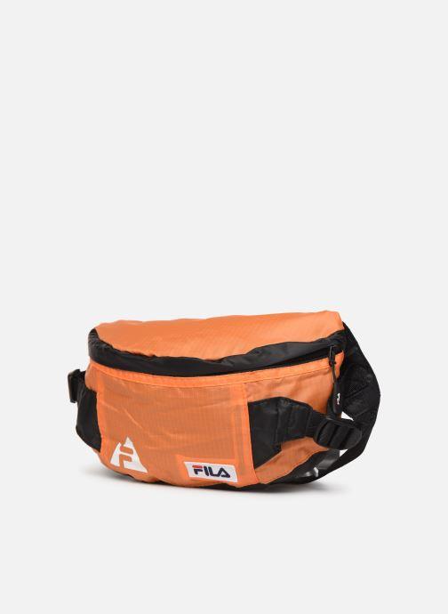 Pelletteria FILA Waist Bag Göteborg Arancione modello indossato