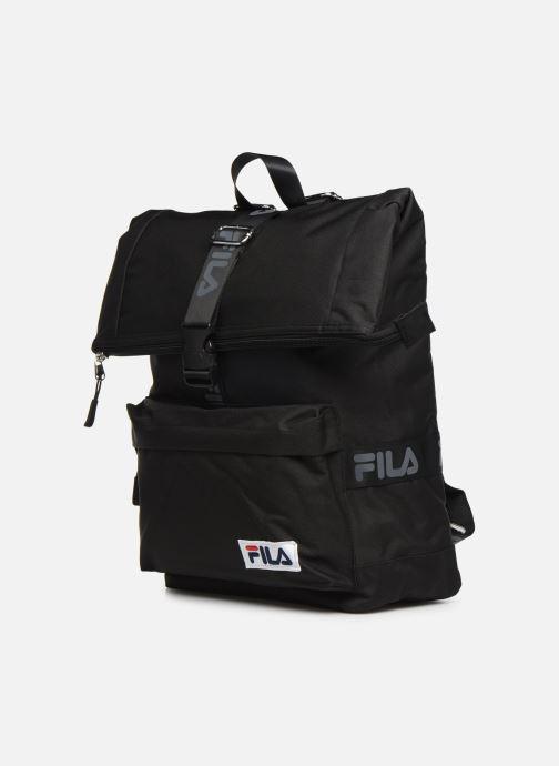 Sacs à dos FILA Rolltop Backpack Örebro Noir vue portées chaussures
