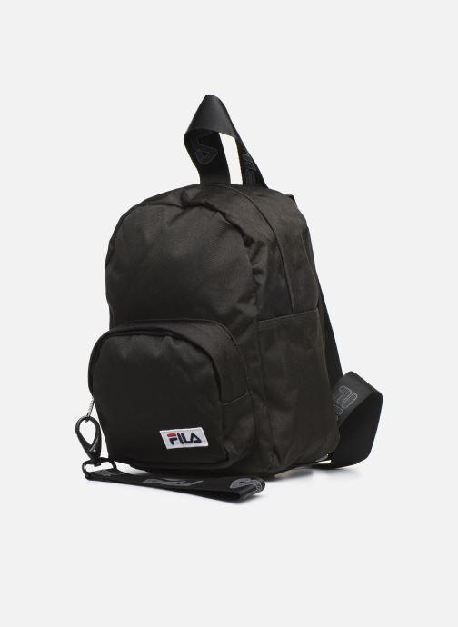 Sacs à dos FILA Mini Strap Backpack Varberg Noir vue portées chaussures