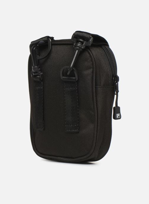 Bolsos de hombre FILA New Pusher Bag Berlin Negro vista lateral derecha