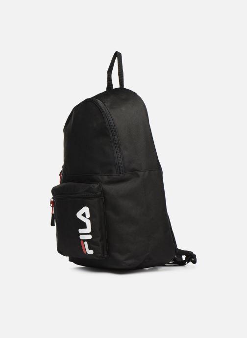 Sacs à dos FILA Backpack S'cool Noir vue portées chaussures