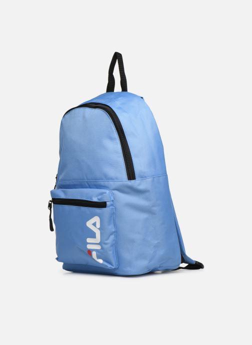 Sacs à dos FILA Backpack S'cool Bleu vue portées chaussures