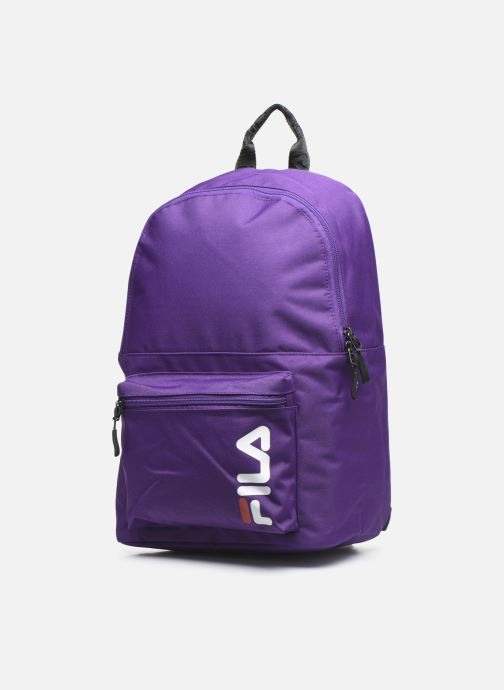 Sacs à dos FILA Backpack S'cool Violet vue portées chaussures