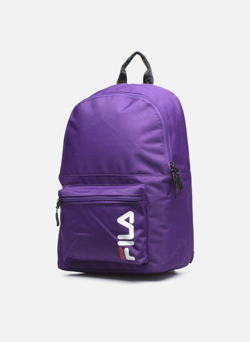 Mochilas FILA Backpack S'cool Violeta      vista del modelo