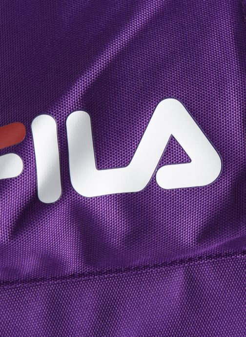 Mochilas FILA Backpack S'cool Violeta      vista lateral izquierda