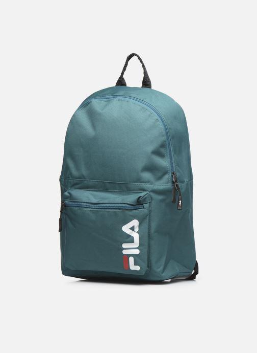 Sacs à dos FILA Backpack S'cool Vert vue portées chaussures