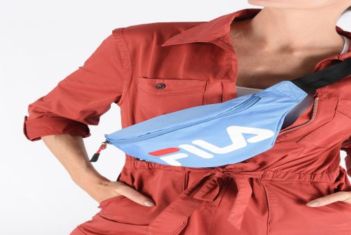 Wallets & cases FILA Waist Bag Slim Blue view from underneath / model view