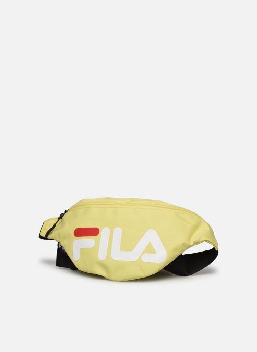 Bolsos de mano FILA Waist Bag Slim Amarillo vista del modelo