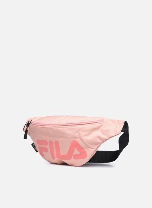 Borse FILA Waist Bag Slim Rosa modello indossato