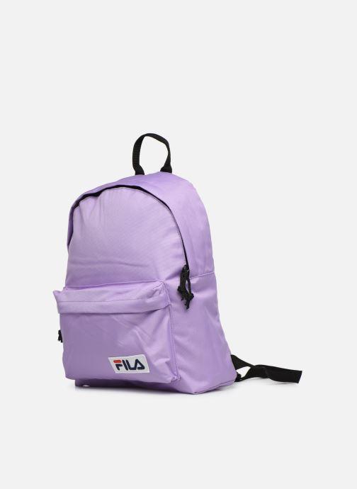 Sacs à dos FILA Mini Backpack Malmö Violet vue portées chaussures