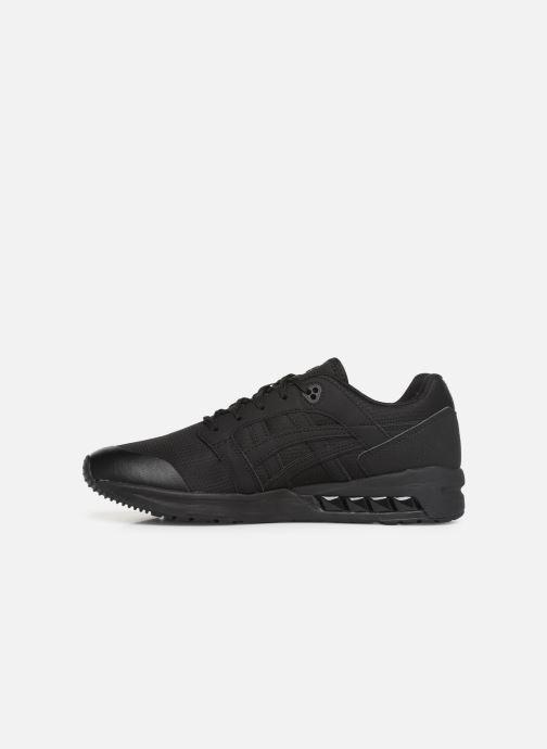 Sneaker Asics Gelsaga Sou schwarz ansicht von vorne
