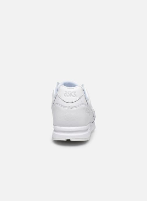 Baskets Asics Gelsaga Blanc vue droite