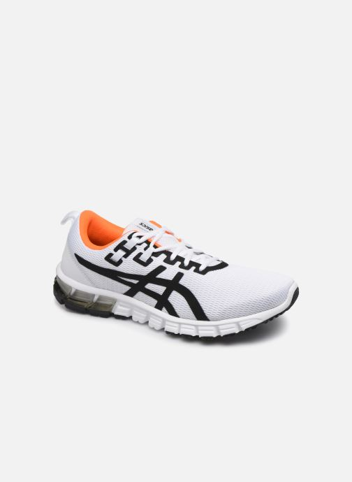 asics gel quantum 90 blanche orange