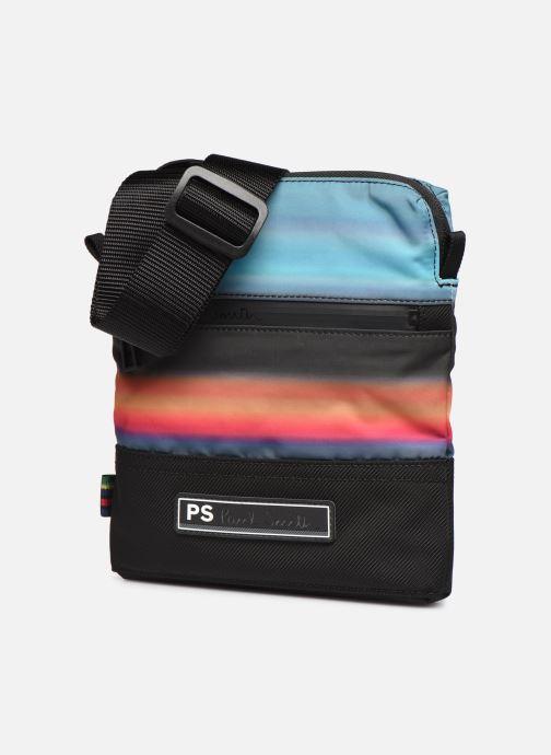 Sacs homme PS Paul Smith FLIGHT BAG Multicolore vue portées chaussures