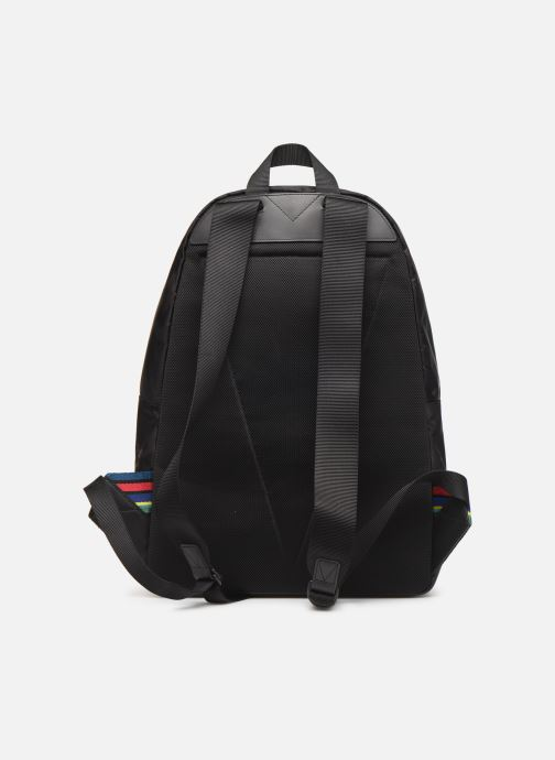 Sacs à dos PS Paul Smith BACKPACK CAMO Noir vue face