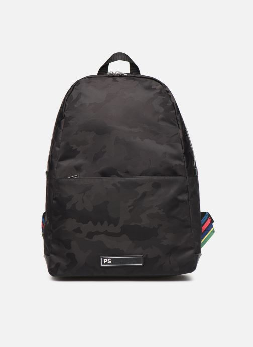 Sacs à dos PS Paul Smith BACKPACK CAMO Noir vue détail/paire
