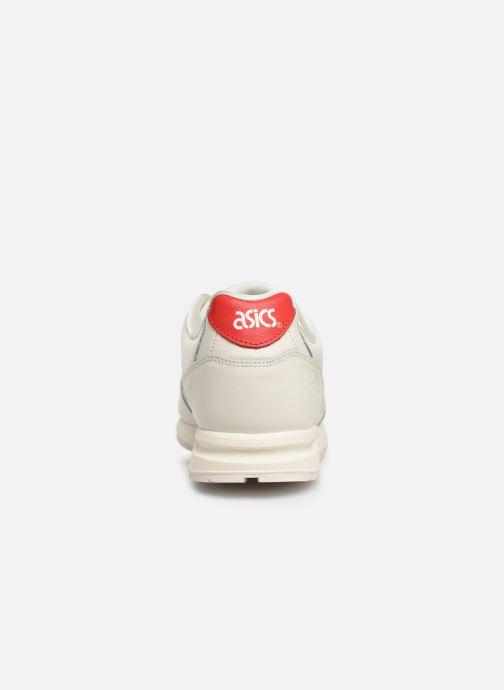 Baskets Asics Gelsaga Valentine Blanc vue droite