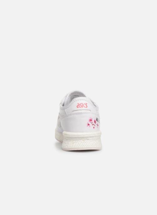 Baskets Asics Hypergel-Lyte Sakura Blanc vue droite