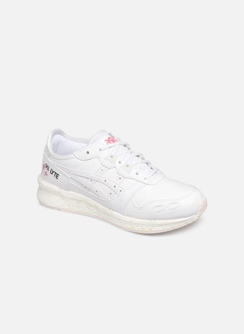 Sneakers Asics Hypergel-Lyte Sakura Hvid detaljeret billede af skoene