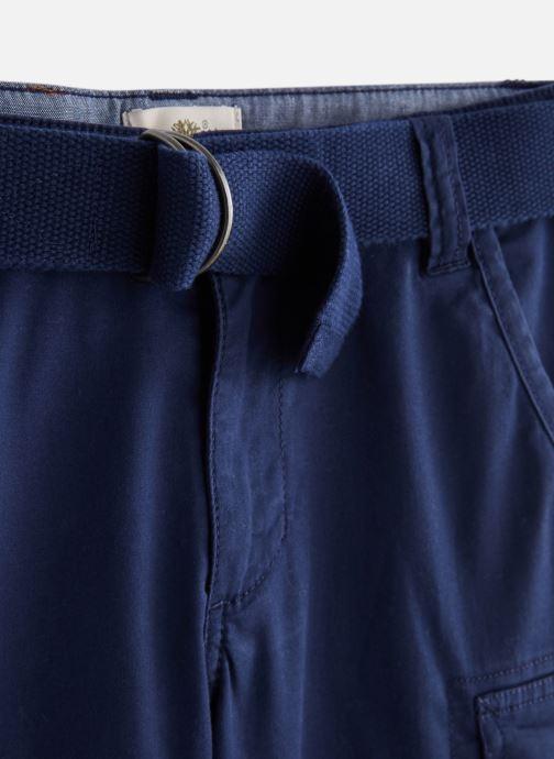 Vêtements Timberland T24A49 Bleu vue portées chaussures