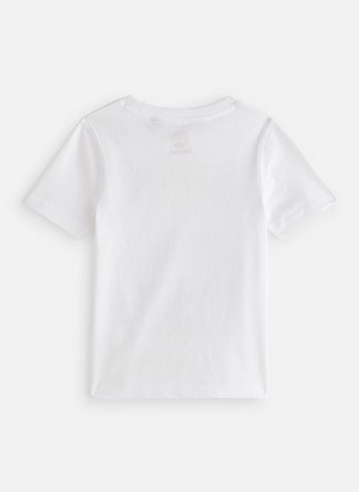 Vêtements Timberland T25P12 Blanc vue bas / vue portée sac