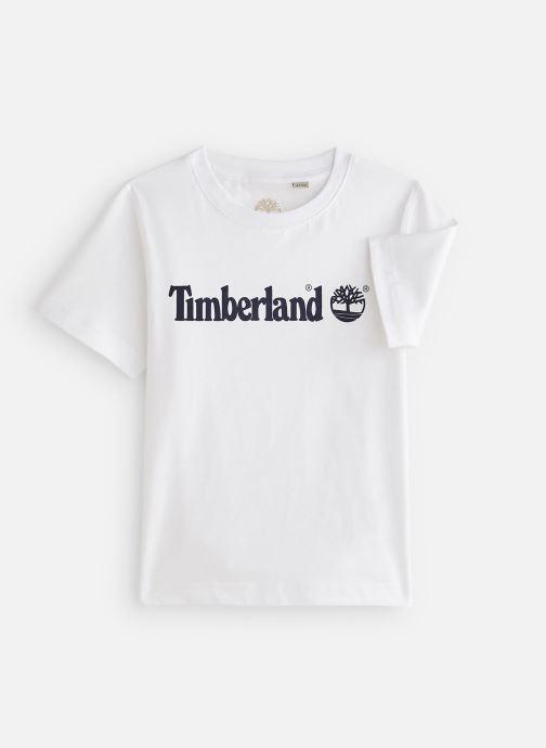 Vêtements Timberland T25P12 Blanc vue détail/paire