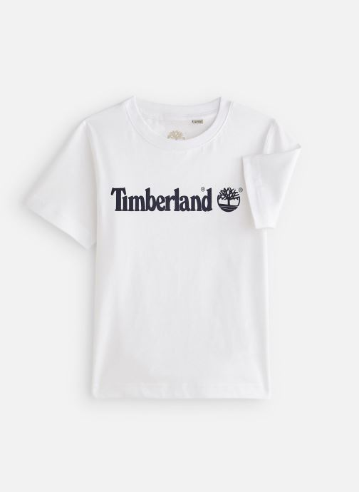 Kleding Timberland T25P12 Wit detail