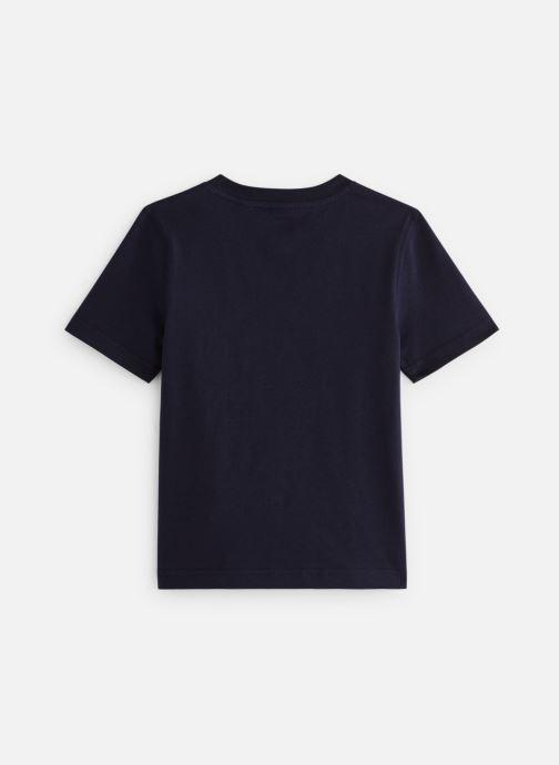 Vêtements Timberland T25P12 Bleu vue bas / vue portée sac