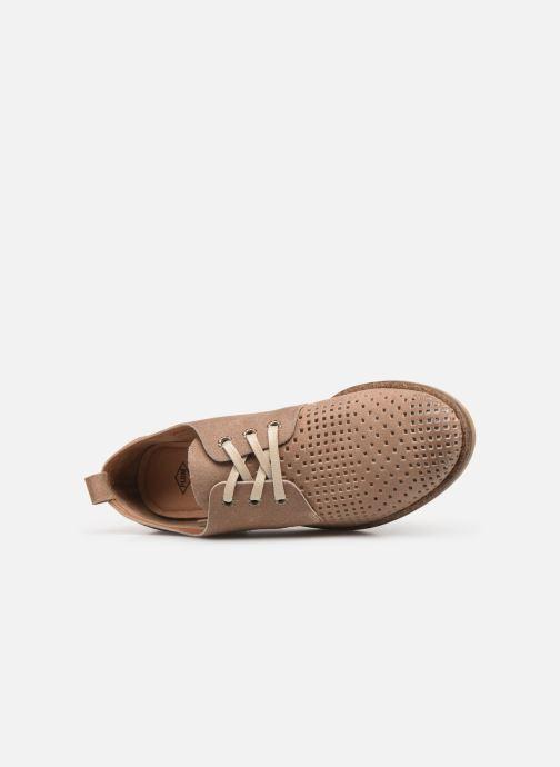 Zapatos con cordones P-L-D-M By Palladium Singa Tbl Beige vista lateral izquierda