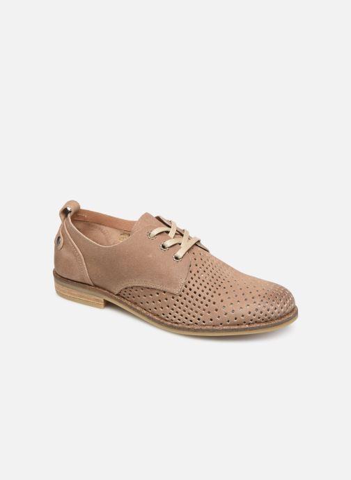 Zapatos con cordones P-L-D-M By Palladium Singa Tbl Beige vista de detalle / par