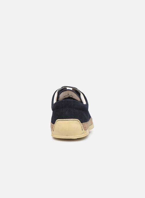 Chaussures à lacets P-L-D-M By Palladium Epidemic Bleu vue droite