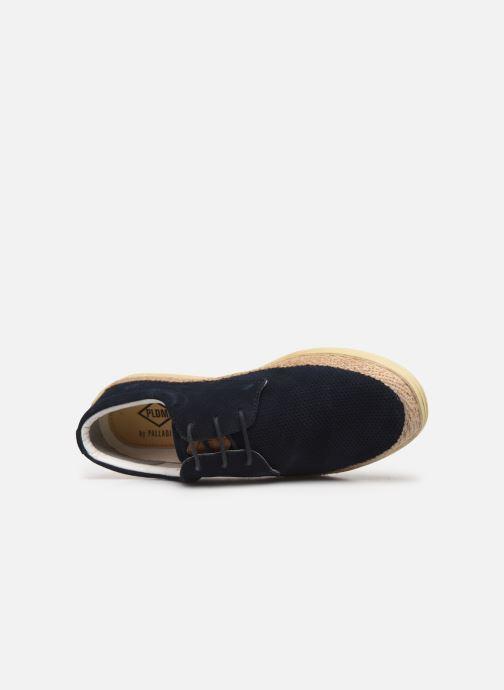 Chaussures à lacets P-L-D-M By Palladium Epidemic Bleu vue gauche
