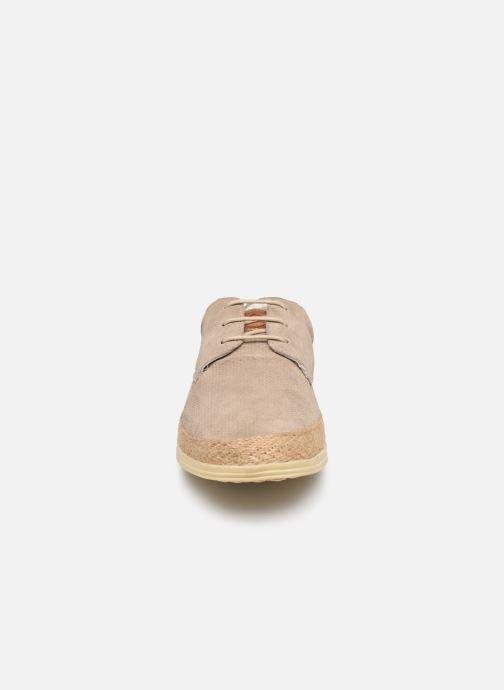 Chaussures à lacets P-L-D-M By Palladium Epidemic Beige vue portées chaussures