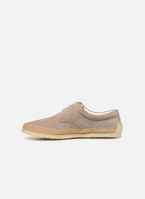 Chaussures à lacets P-L-D-M By Palladium Epidemic Beige vue face