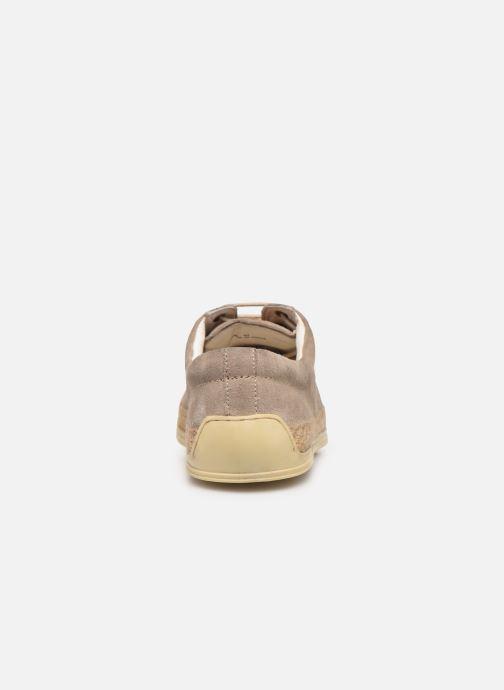 Chaussures à lacets P-L-D-M By Palladium Epidemic Beige vue droite