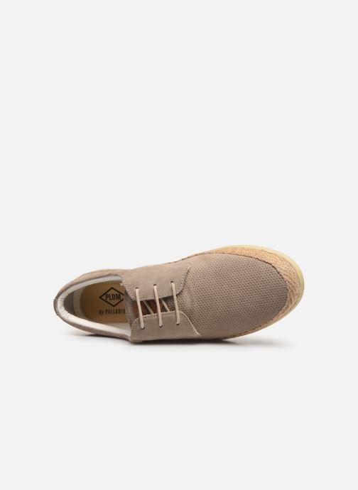 Chaussures à lacets P-L-D-M By Palladium Epidemic Beige vue gauche