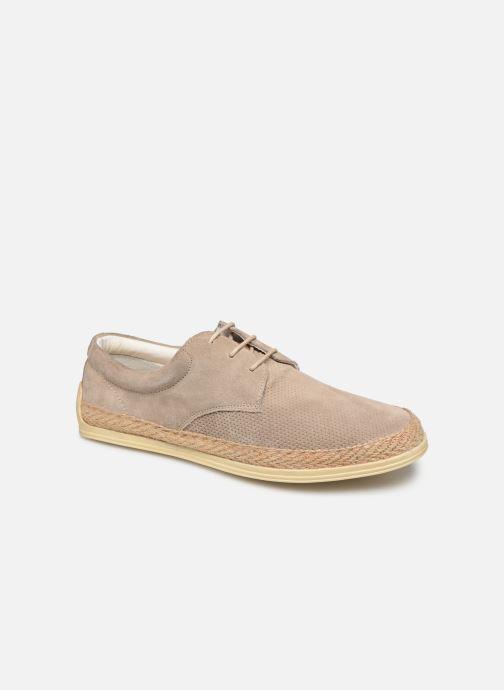 Chaussures à lacets P-L-D-M By Palladium Epidemic Beige vue détail/paire
